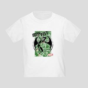 Iron Fist Green Panels Toddler T-Shirt