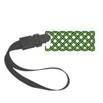 Celtic Knot Small Luggage Tag