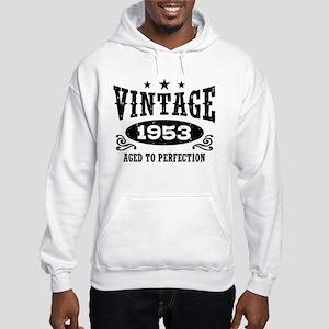 Vintage 1953 Hooded Sweatshirt