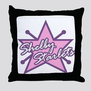 Shelby Starlets Throw Pillow