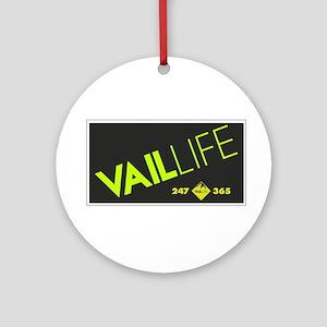 VailLIFE 365 III Ornament (Round)