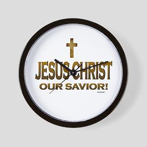 Jesus Christ Our Savior Wall Clock