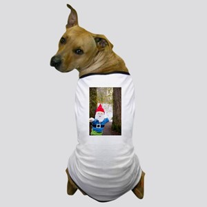 Winter Forest Gnome Dog T-Shirt