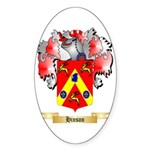 Hinson Sticker (Oval 50 pk)