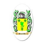 Hinscliffe 20x12 Oval Wall Decal