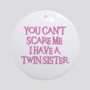 TWIN SISTER Ornament (Round)