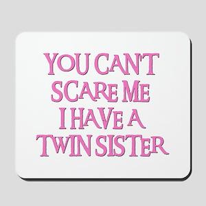 TWIN SISTER Mousepad