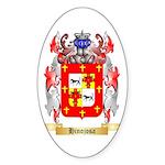 Hinojosa Sticker (Oval 50 pk)