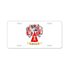 Hinnerk Aluminum License Plate