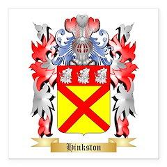 Hinkston Square Car Magnet 3