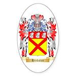 Hinkston Sticker (Oval 10 pk)