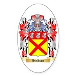 Hinkson Sticker (Oval 50 pk)
