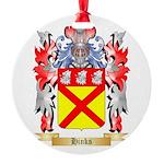 Hinks Round Ornament