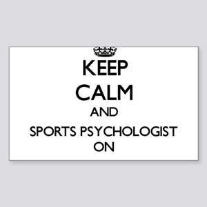 Keep Calm and Sports Psychologist ON Sticker