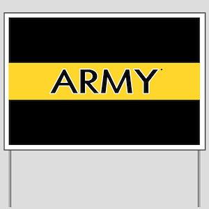 U.S. Army: Army (Gold Stripe) Yard Sign