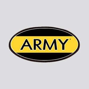U.S. Army: Army (Gold Stripe) Patch