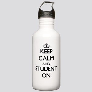 Keep Calm and Student Stainless Water Bottle 1.0L