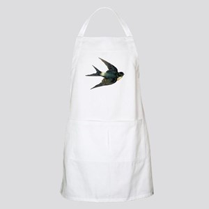 Vintage Swallow Bird Art Apron