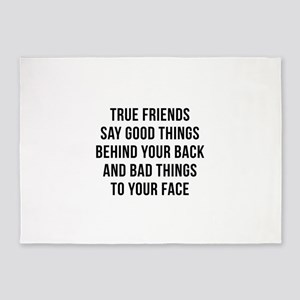 True Friends 5'x7'Area Rug