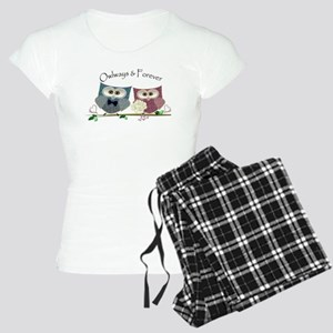 Owlways & Forever Cute Owls Women's Light Pajamas