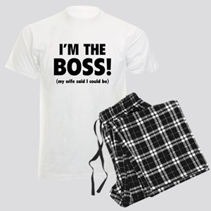 I'm The Boss Men's Light Pajamas