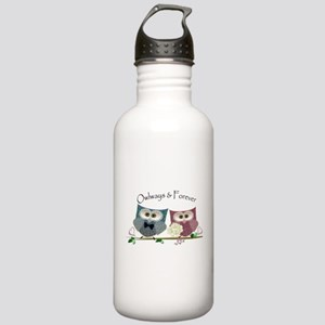 Owlways & Forever Cute Stainless Water Bottle 1.0L