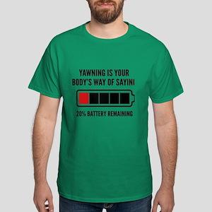 Yawning Dark T-Shirt
