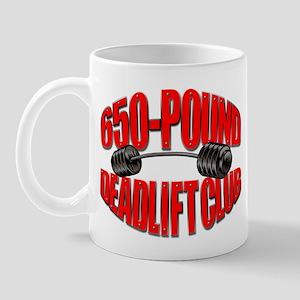 650-POUND DEADLIFT Mug