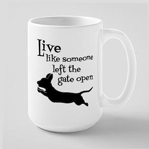 OPEN GATE! Large Mug