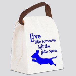 OPEN GATE! Canvas Lunch Bag