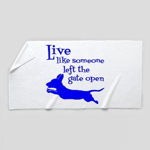 OPEN GATE! Beach Towel