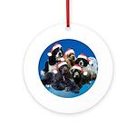 Darlene's kids Ornament (Round)