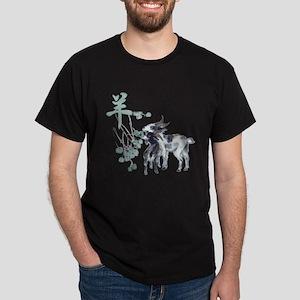 Watercolor Year of the Goat Dark T-Shirt