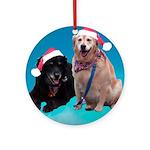 Devlin & Bailey Ornament (Round)