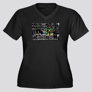 You Are Being Watched Plus Size T-Shirt