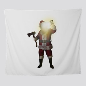 Bad Santa Wall Tapestry