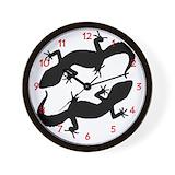 Bearded dragons Wall Clocks
