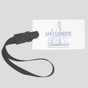 San Clemente Large Luggage Tag