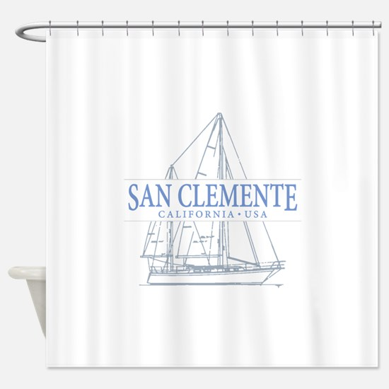 San Clemente Shower Curtain