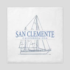 San Clemente Queen Duvet
