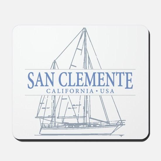 San Clemente Mousepad