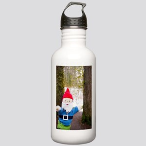 Winter Forest Gnome Stainless Water Bottle 1.0L