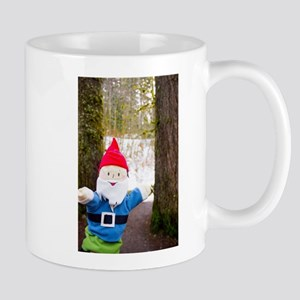 Winter Forest Gnome Mugs