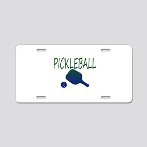 Pickleball with ball and paddle sport Aluminum Lic