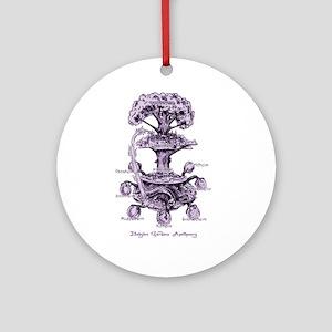 Nine Doors of the Midgard Ornament (Round)