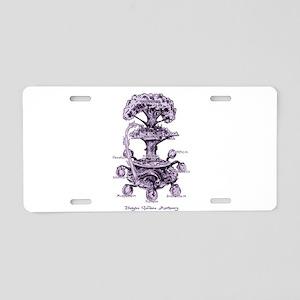 Nine Doors of the Midgard Aluminum License Plate