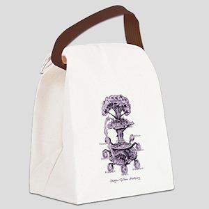 Nine Doors of the Midgard Canvas Lunch Bag