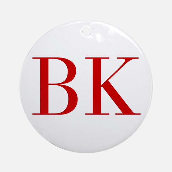 BK-bod red2 Ornament (Round)