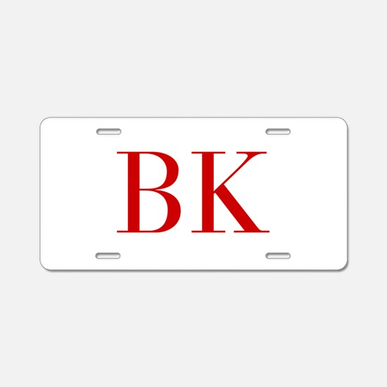 BK-bod red2 Aluminum License Plate