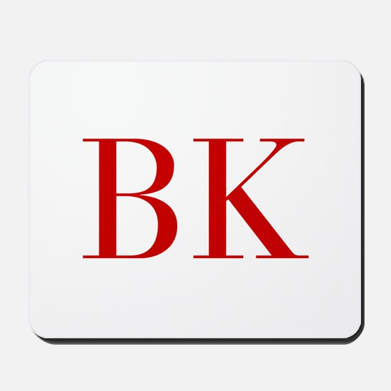 BK-bod red2 Mousepad